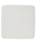 Αντιολισθητικό Ταπέτο Ντουσιέρας 55*55εκ. Λευκό Sealskin Safety Mat Unilux White 315001210