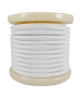 Καλώδιο Λευκό  Υφασμάτινο 2*0,75 mm Ρολλό 10 Μέτρων Enjoy EL330005
