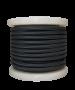 Καλώδιο Μαύρο Υφασμάτινο 2*0,75 mm Ρολλό 10 Μέτρων Enjoy EL330022