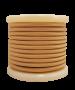 Καλώδιο Μπεζ-Χρυσό Υφασμάτινο 2*0,75 mm Ρολλό 10 Μέτρων Enjoy EL330020