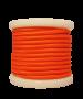 Καλώδιο Υφασμάτινο Πορτοκαλί Γυαλιστερό 2*0,75 mm Ρολλό 10 Μέτρων Enjoy EL330026