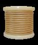 Καλώδιο Χρυσό Γυαλιστερό Υφασμάτινο 2*0,75 mm Ρολλό 10 Μέτρων Enjoy EL330008