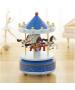 Καρουζέλ Μουσικό με Αλογάκια Περιστρεφόμενο Ø10*Υ20 εκ.Μέταλλο-Ξύλο Etoile MB230E