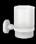 Ποτηροθήκη Επίτοιχη Λευκό Ματ Verdi Sigma White Matt 3030501