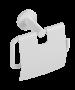 Χαρτοθήκη με Κάλυμμα Λευκή Ματ Verdi Sigma White Matt 3031401